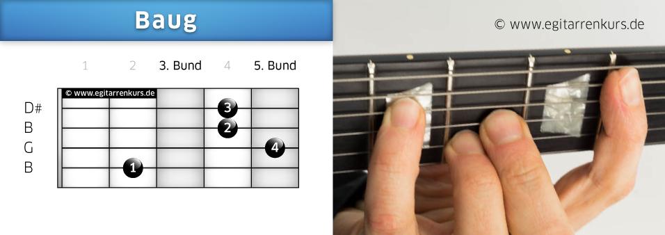 Baug Gitarrenakkord Voicing 2