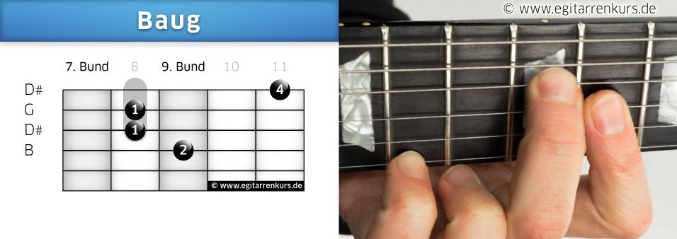 Baug Gitarrenakkord Voicing 5