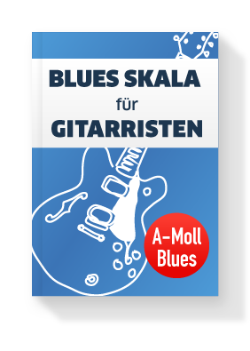 Blues-Skala Gitarre in A-Moll