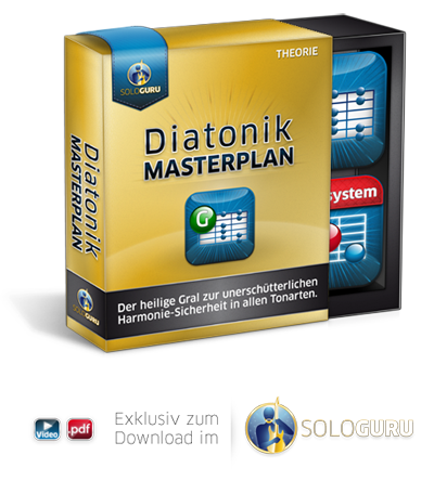 Diatonik Masterplan - Nur exklusiv im SoloGURU Bonus Grundkurse erhältlich